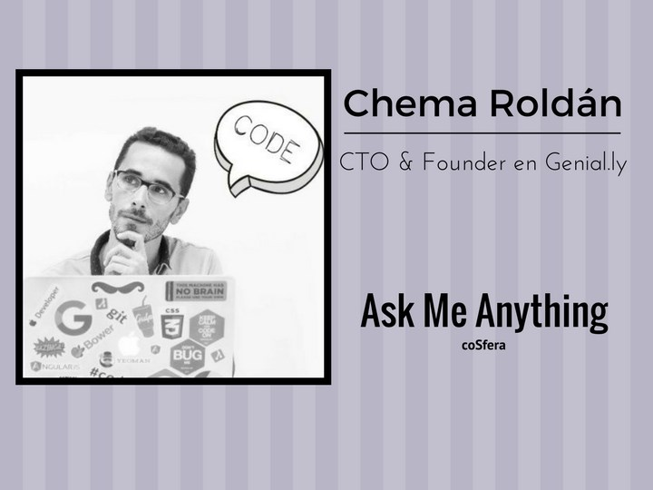 AskMeAnything Chema Roldán(Genial.ly)